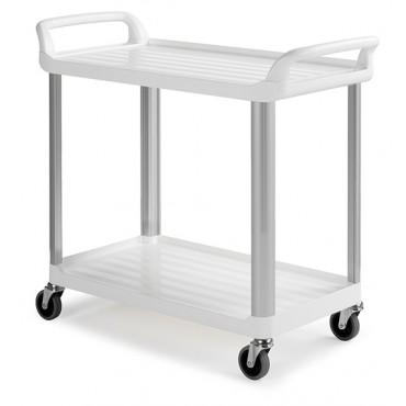 Wózek gastronomiczny - 2 półki